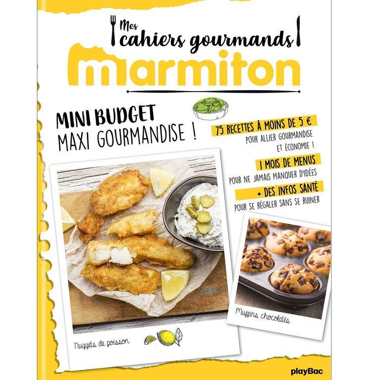 Nouveaute Le Livre De Recettes Marmiton Special Mini Budget