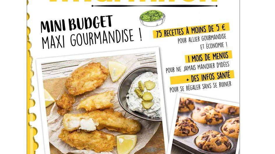 Nouveauté : le livre de recettes Marmiton spécial mini budget !