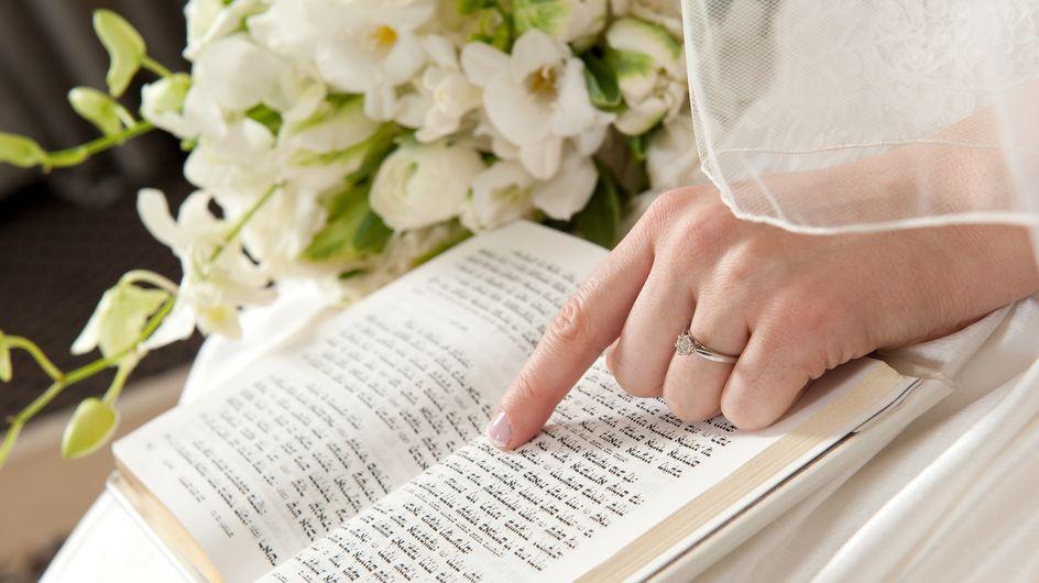 Chatuna: So läuft eine jüdische Hochzeit ab