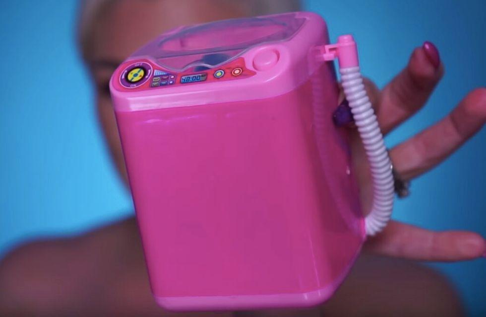 Coup de coeur pour la mini-machine à laver nos éponges à maquillage