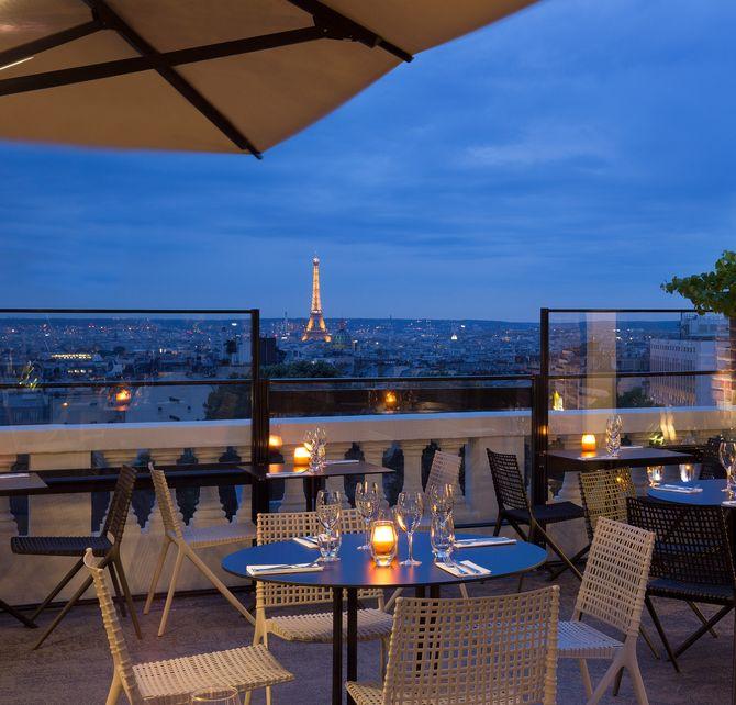 """Le Terrass""""Hôtel"""