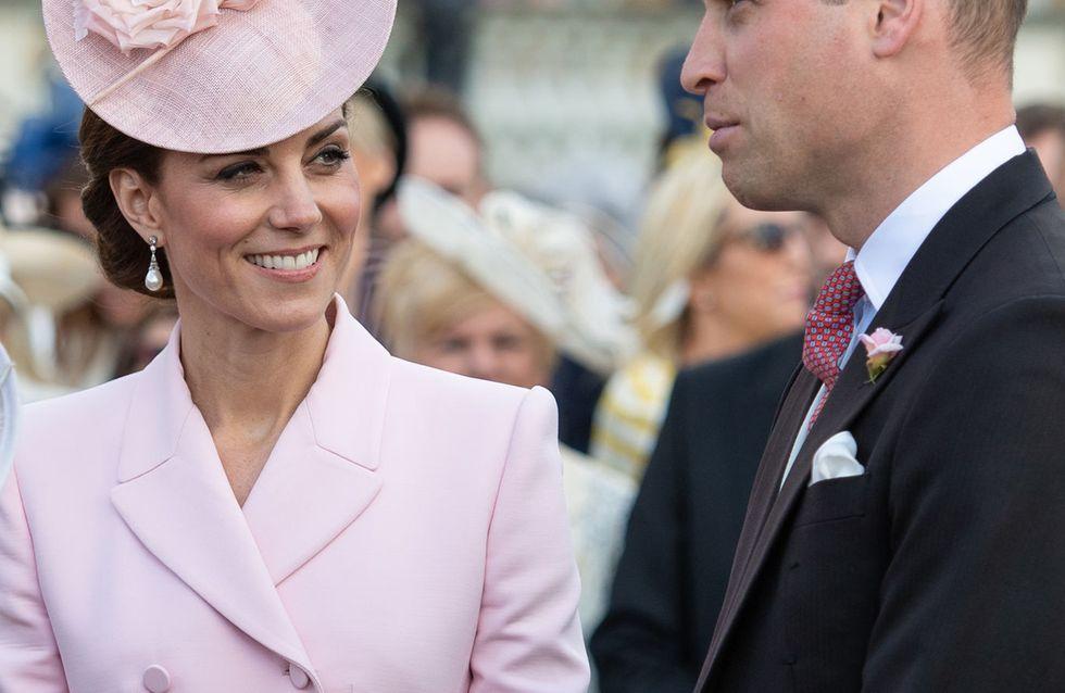 Il look rosa pastello di Kate Middleton al Garden party ci fa sognare