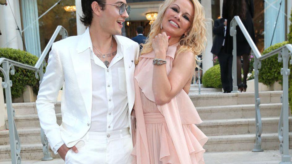 Cannes : moment tendre et complice entre Pamela Anderson et son fils