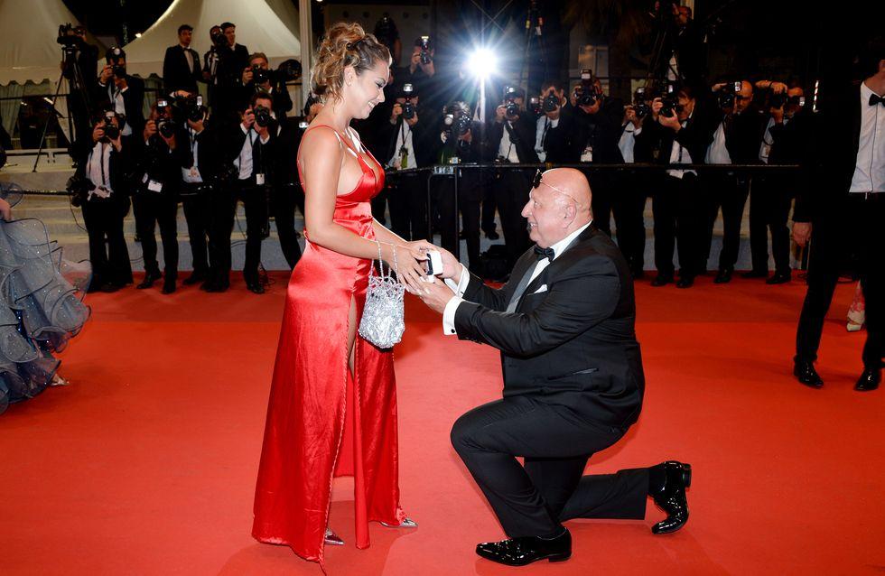Incroyable ! Il fait sa demande en mariage sur le tapis rouge du Festival de Cannes