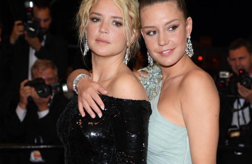Virginie Efira et Adèle Exarchopoulos se la jouent Cendrillon sur les marches du Festival de Cannes