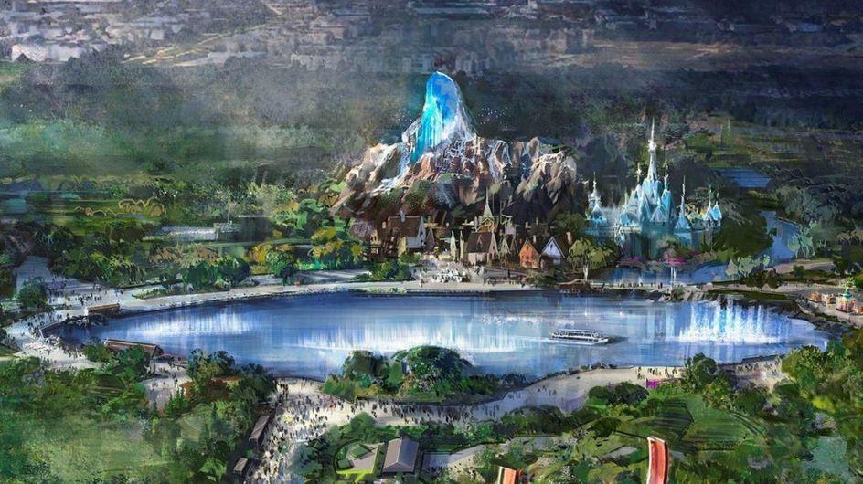 Disneyland Paris : un lac géant et une montagne de 40 mètres pour ses nouveaux univers