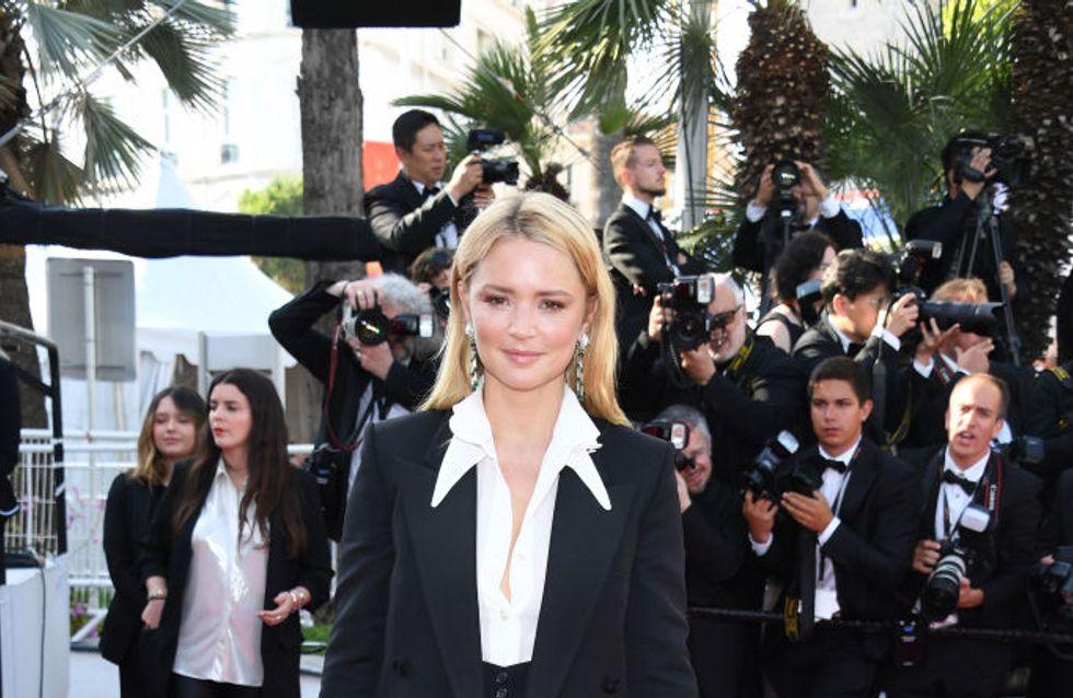 Virginie Efira, très chic en costume pour la fin du Festival de Cannes