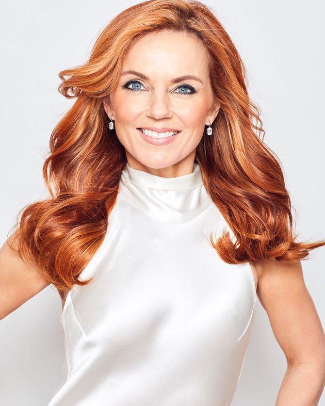 Canon ! Geri Halliwell des Spice Girls renoue avec le roux de sa jeunesse