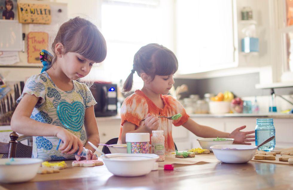 Des ustensiles rigolos pour cuisiner avec des enfants