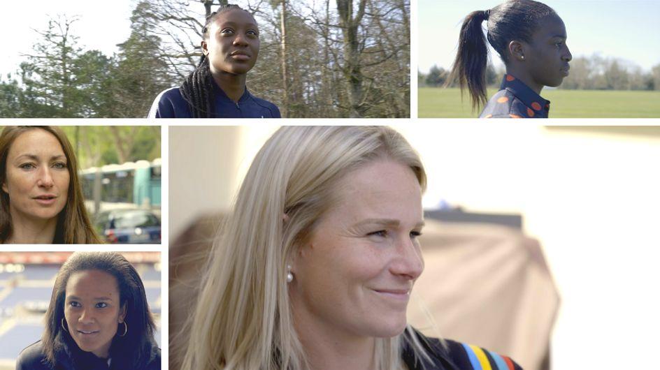 Julie Gayet apporte son soutien aux Bleues pour la Coupe du monde, découvrez comment...