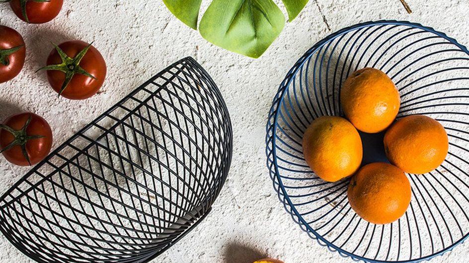 Des corbeilles à fruits qui sortent du lot