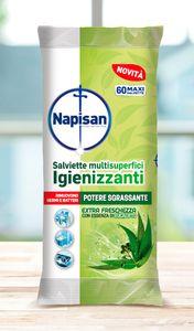 Salviette Igienizzanti con Essenza di Eucalipto