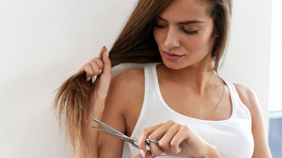 Puntas abiertas: remedios naturales para sanearlas sin cortarte el pelo