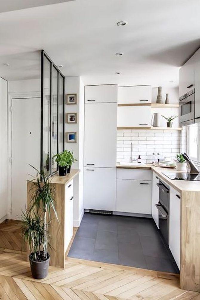 Une idée pour aménager sa petite cuisine