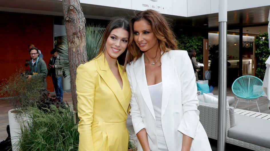 Miss France : Iris Mittenaere et Malika Ménard imposent leur style à Roland-Garros