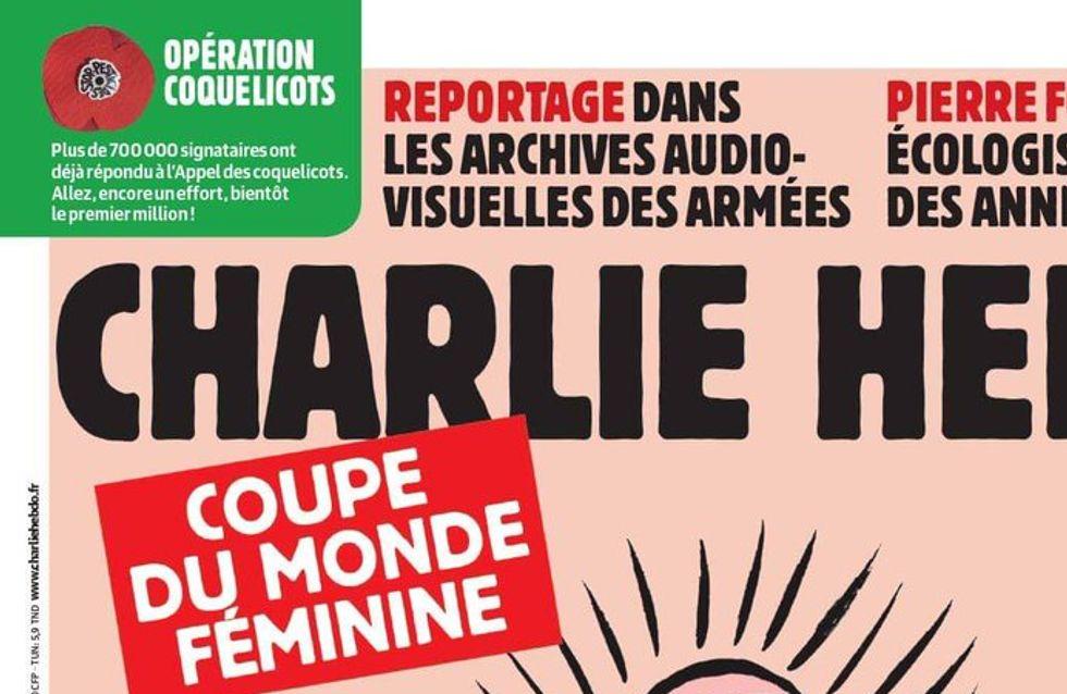 La Une de Charlie hebdo sur le foot féminin ne laisse pas les internautes indifférents