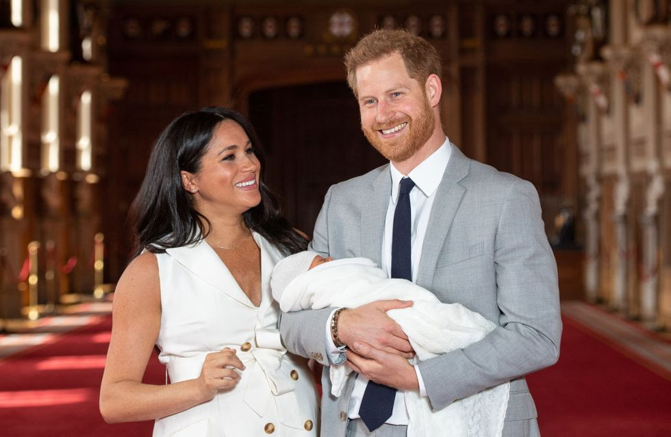 Une adorable photo du prince Harry avec Archie dévoilée pour la fête des pères