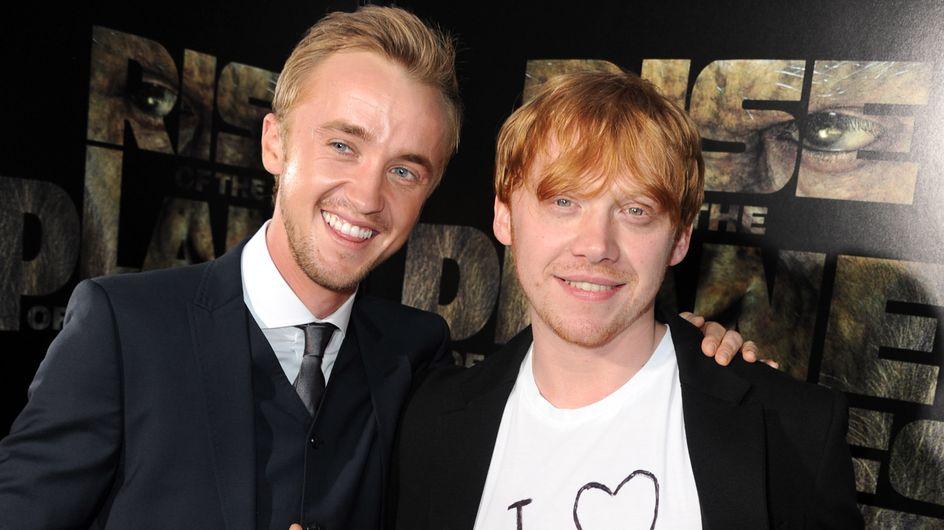 Tom Felton et Rupert Grint seraient prêts pour un remake de Harry Potter