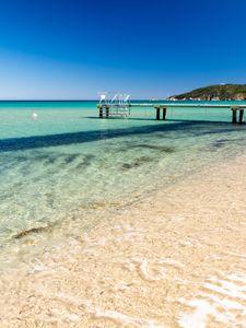 La plage de Pampelonne à Ramatuelle