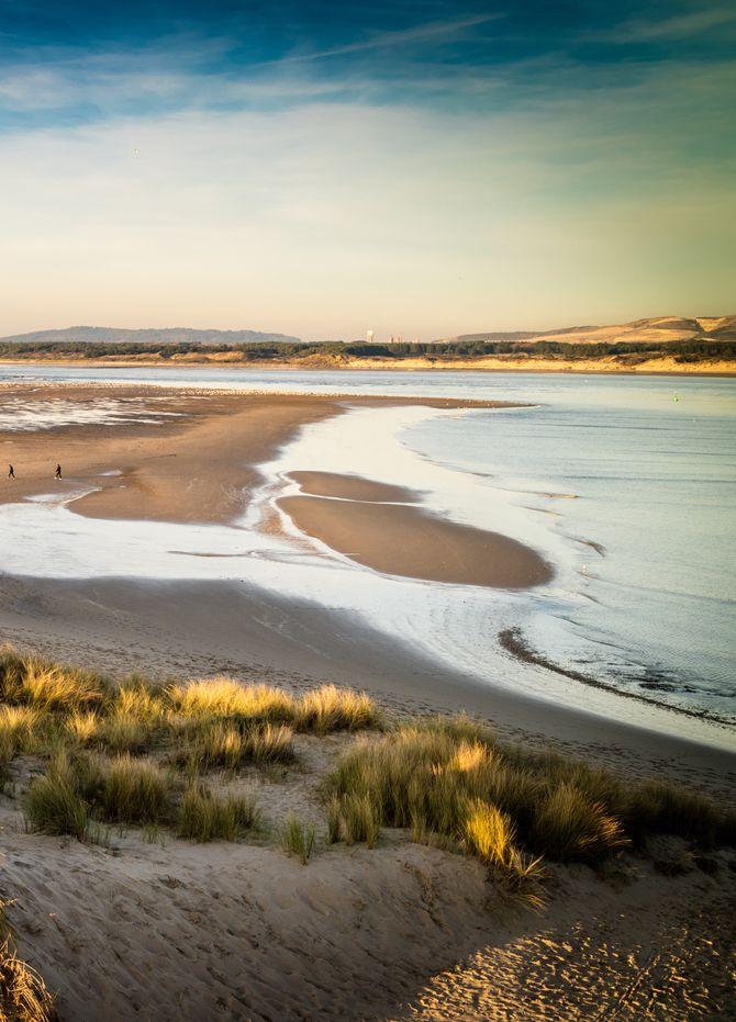 La plage du Touquet