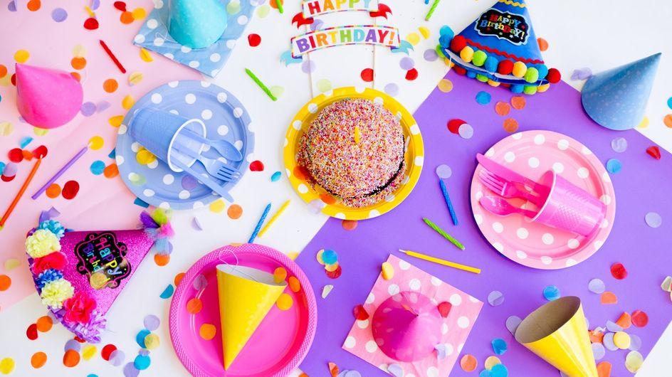 Anniversaire d'enfant : notre sélection pour une belle table de fête