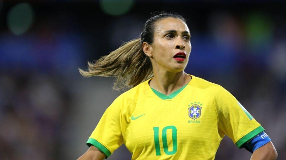 Coupe du monde: l'incroyable discours de Marta aux petites filles après l'élimination du Brésil