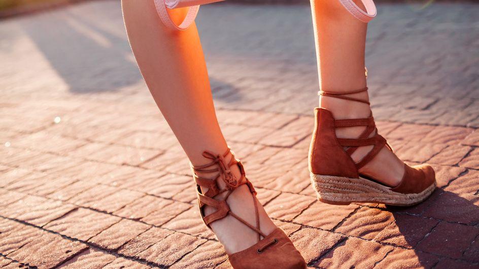Vente de shopping: sandalias con cuña para tus looks de verano