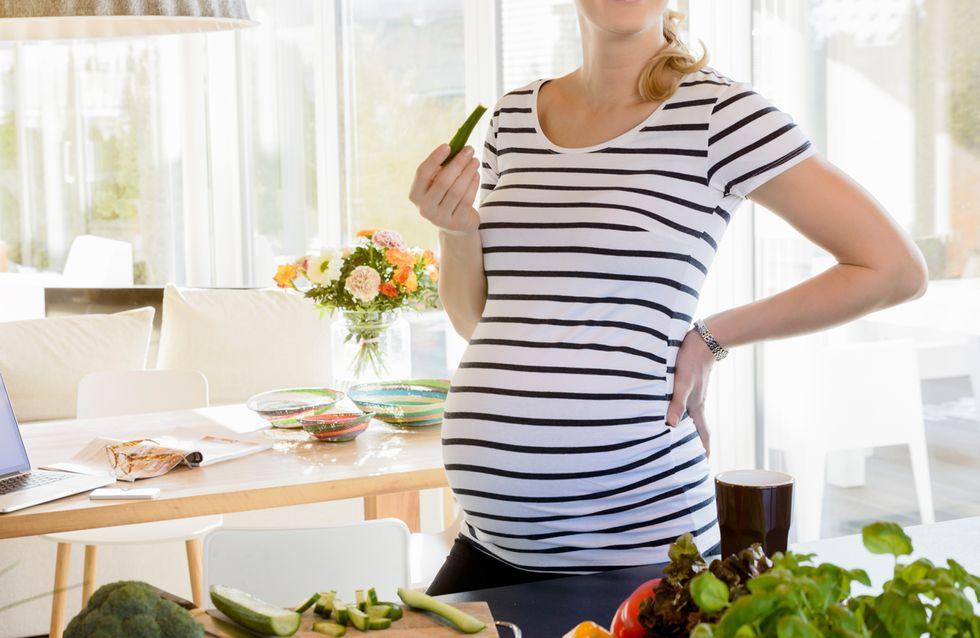 un piano di dieta per la gravidanza