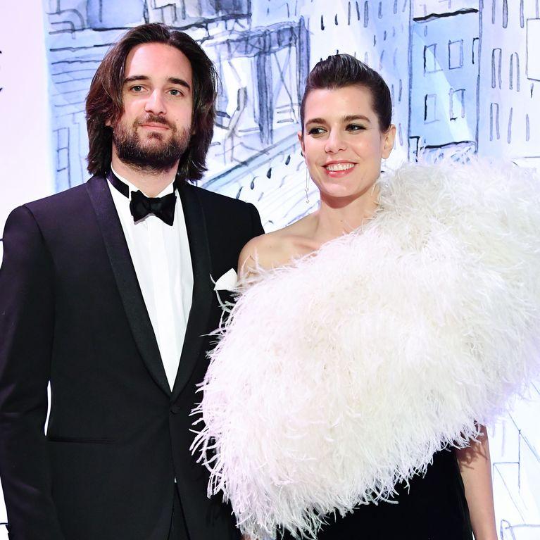 Pour son mariage religieux, Charlotte Casiraghi dévoile une somptueuse robe  bohème