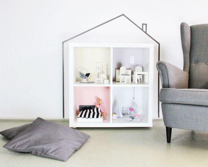 Ikea-Hack fürs Kinderzimmer: Puppenhaus