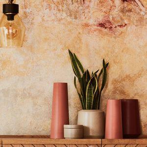 Vases en céramique terracotta
