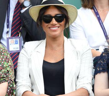 En jean et blazer, Meghan Markle opte pour un look casual à Wimbledon