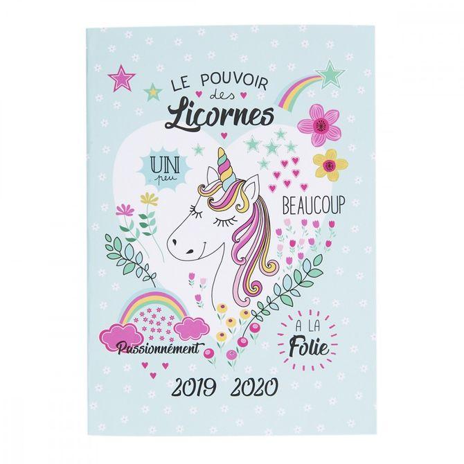 Agenda licorne - 5,99 €