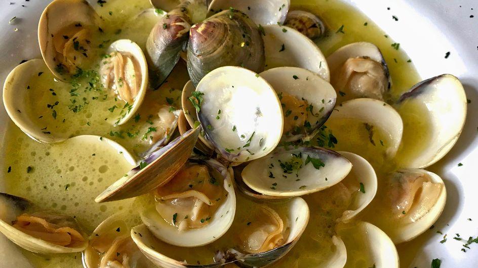 Almejas en salsa verde: una receta fácil y saludable