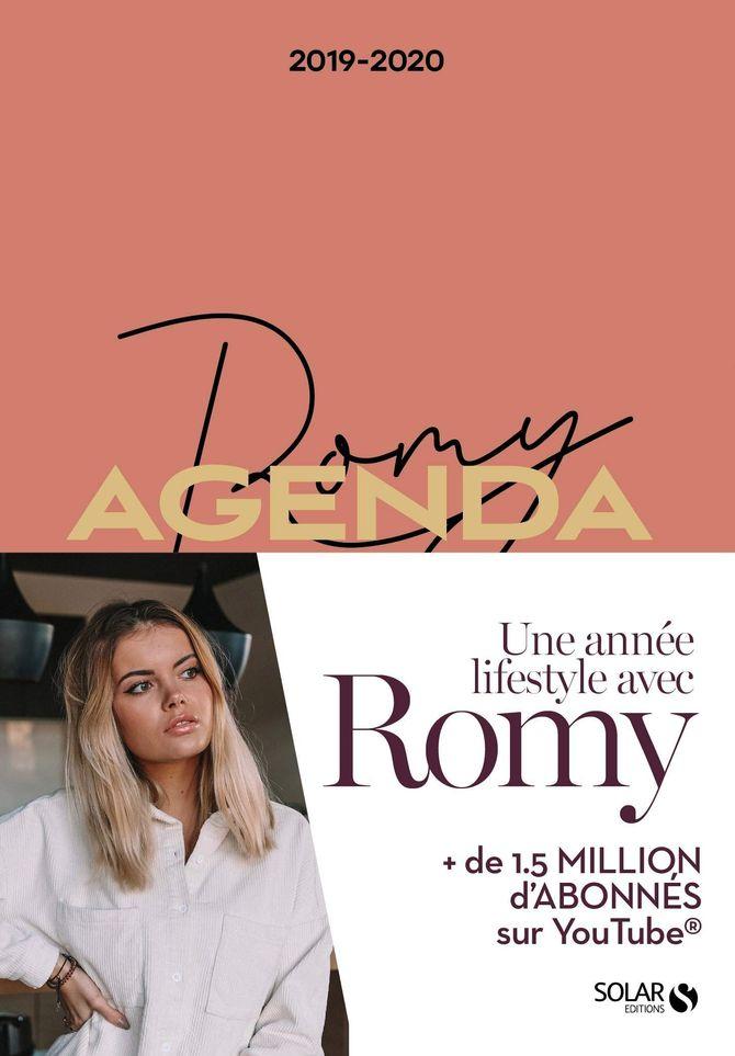 Agenda Romy 2019/2020 - 9,99 €