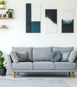 Wohnzimmer Wandgestaltung: Geniale Ideen für stylische Wände