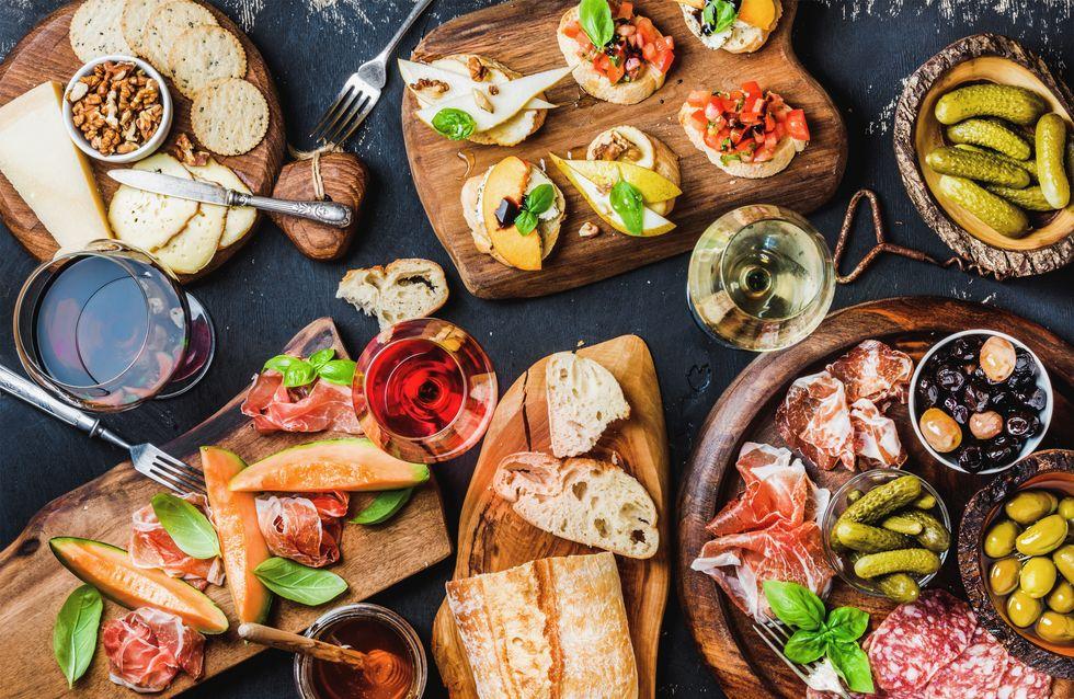 8 recettes d'antipasti, comme en Italie !