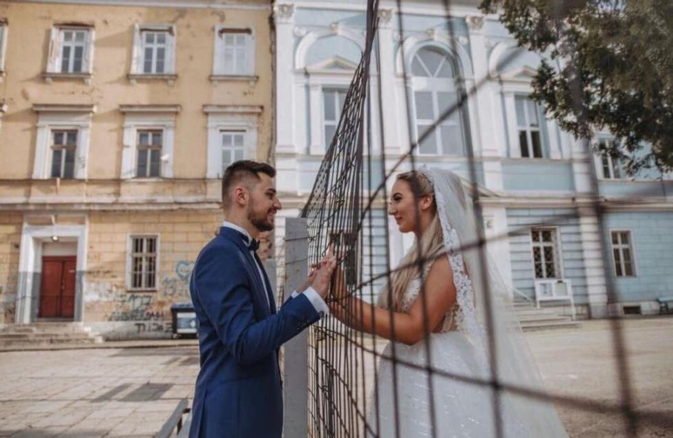 Cette photo de mariage d'une catholique et d'un musulman fait tomber les barrières