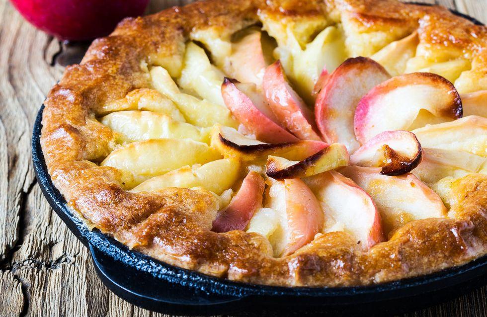 Tarta de manzana sin horno: cómo prepararla paso a paso