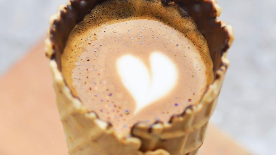 Kaffee im Hörnchen: Dieser Food-Trend erobert unser Herz im Sturm