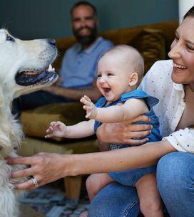 Baby und Haustier: Was man beachten muss, damit beide ein Dreamteam werden