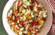 Ensalada de judías blancas: un plato nutritivo y apetecible para el verano