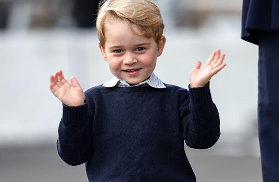 Le dernier look du prince George coûte seulement 33 euros et tout le monde se l'arrache !