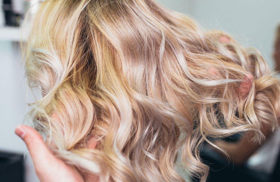 Braun gefärbte haare wieder blond färben