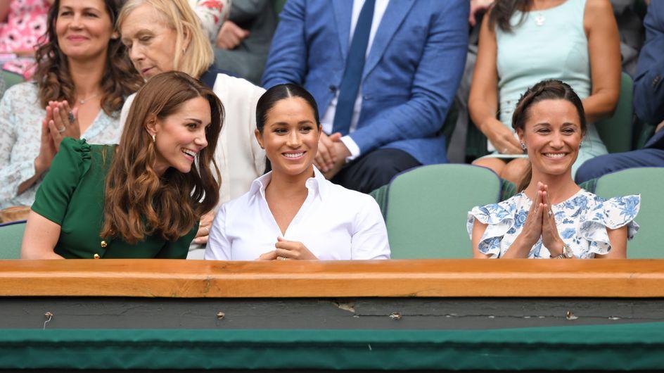 Meghan Markle, Kate et Pippa Middleton, complices à Wimbledon pour la finale