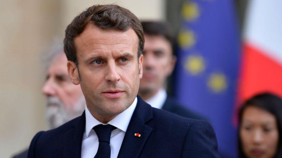 """Emmanuel Macron appelé à lutter pour protéger l'IVG, """"loin d'être un acquis définitif"""""""