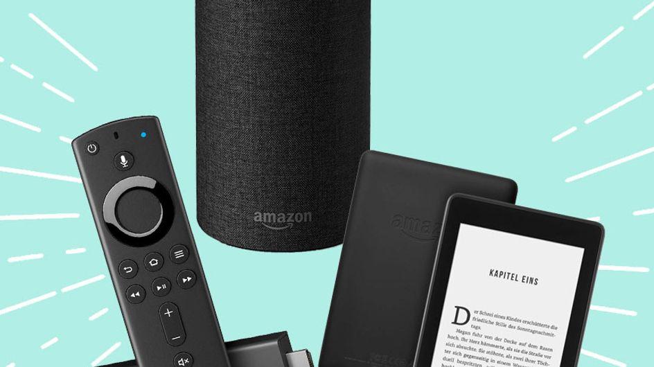 Amazon Prime Day Rabatte: Echo Dot, Fire TV & Kindle bis zu 67% billiger