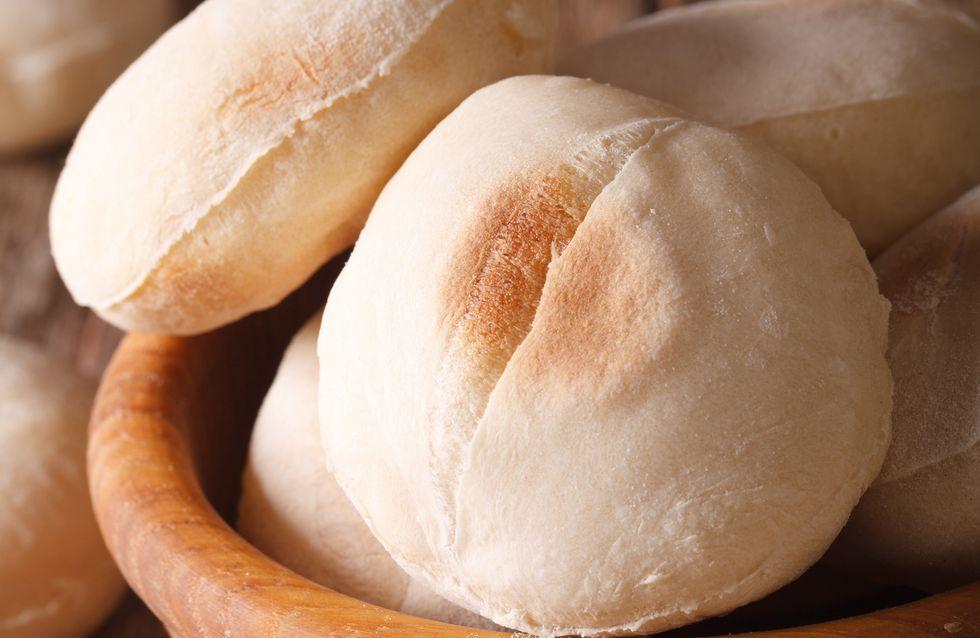 Les batbouts, petits pains marocains