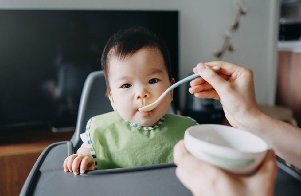 L'OMS alerte sur le fort taux de sucre dans la nourriture pour bébés