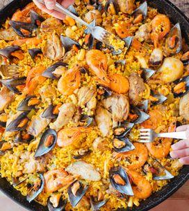 Comment faire une vraie paella espagnole ?